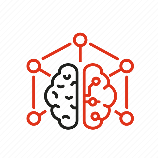 branching, business, expert, intelligence, learn, machine icon