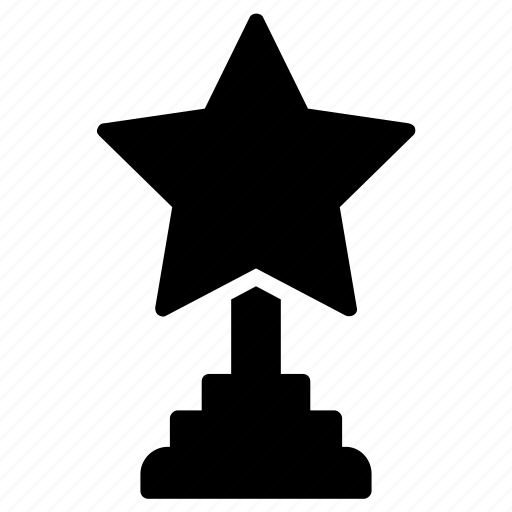 achievement award, award, lifetime achievements, performance award, trophy icon