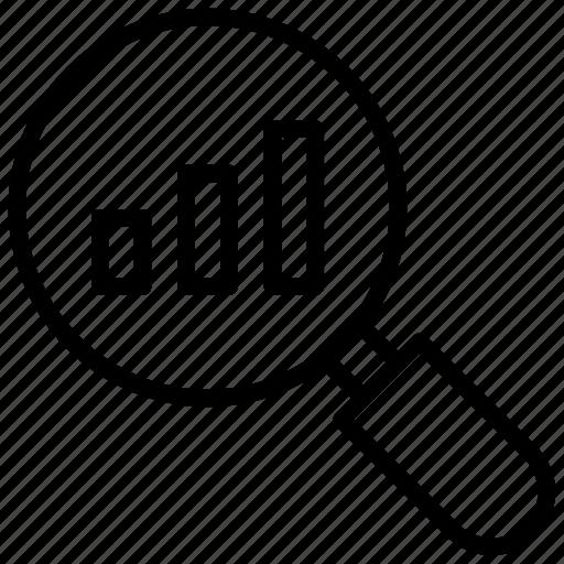 business monitoring, data analysis, data monitoring, search data, seo icon