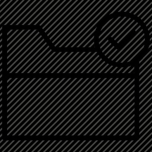 authorized storage, data storage, folder access, safe data, verified folder icon
