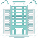 building, city, company, location, office icon