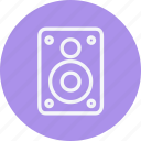 audio, business, communication, internet, lifestyle, office, speaker icon