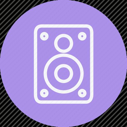 audio, business, communication, internet, lifestyle, office, speaker icon