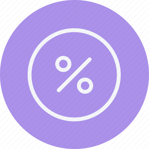 business, communication, discount, divide, employee, office, percentage icon