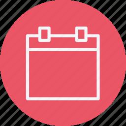 business, calendar, communication, employee, internet, lifestyle, office icon