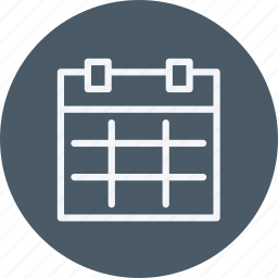 business, calendar, employee, internet, lifestyle, office, schedule icon