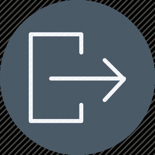 business, communication, internet, log, logging, login, office icon