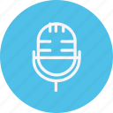 business, communication, employee, internet, lifestyle, microphone, office icon