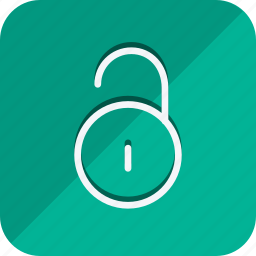 business, communication, lifestyle, marketing, networking, office, unlock icon