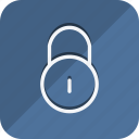 business, communication, lifestyle, lock, marketing, networking, office icon