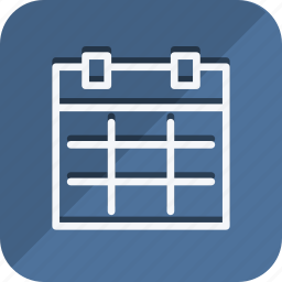 business, calendar, communication, lifestyle, marketing, networking, office icon