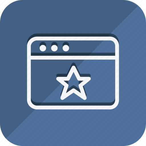 browser, business, communication, marketing, networking, office, star icon