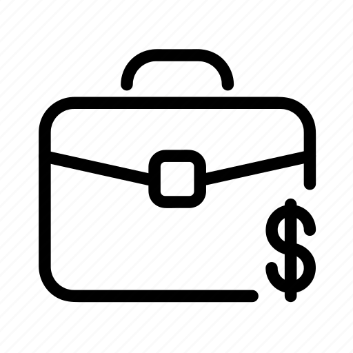 bag, cash, dollar, money, suitcase icon