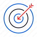aim, arrow, business, crosshair, gps localization, target icon