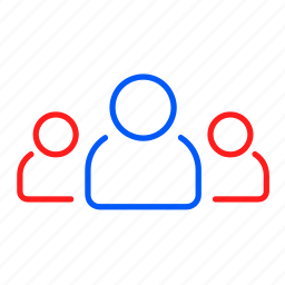 business, friends, group, people, team, users icon