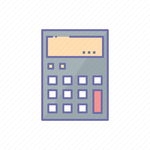 business, calculator, management icon