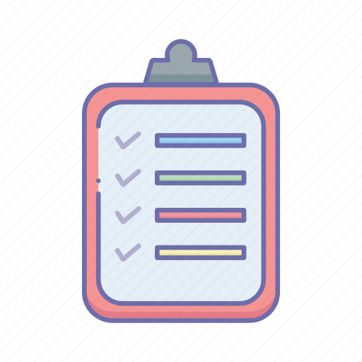 business, clipboard, management icon