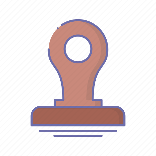 business, management, stamp icon