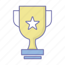 business, management, trophy icon