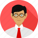 avater, business, client, man, user icon