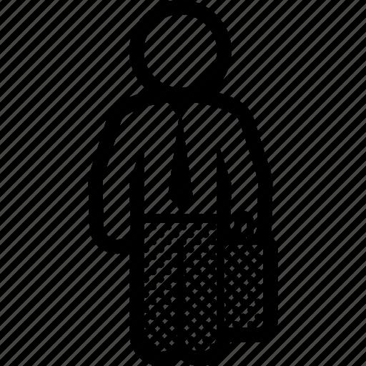 business, man, portfolio, suitcase icon