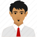 avatar, business, client, man, user icon