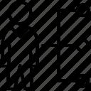 employability, employee skills, job network, professional skills, workplace skills icon