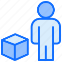 box, user, product, delivery
