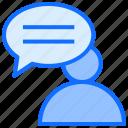 conversation, message, user, comment
