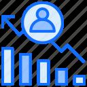chart, user, statistics, analytics