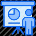 user, analytics, board, graph, presentation