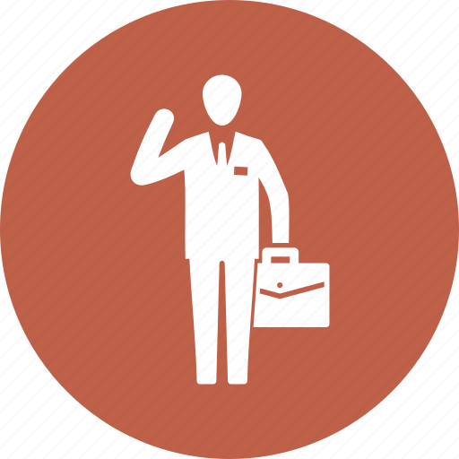 briefcase, business, businessman, office icon