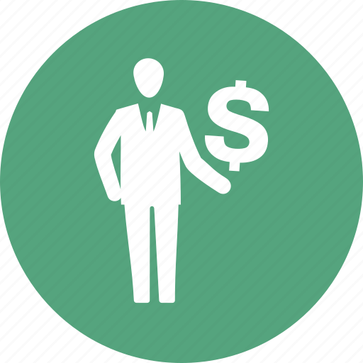 businessman, finance, investments, profit icon