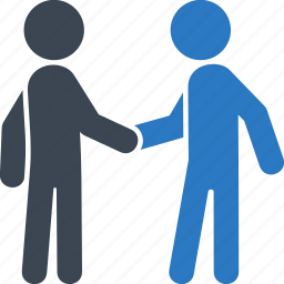 agreement, business deal, businessman, handshake, meeting, partnership, teamwork icon