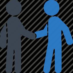 agreement, business deal, handshake, partnership, teamwork icon