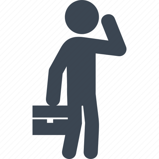 briefcase, business, businessman, finance, leader, manager, office icon