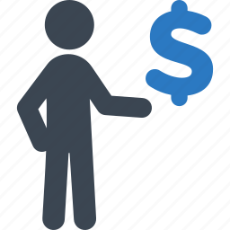 banking, business, businessman, finance, investment, money, profit icon