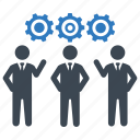 business, planning, teamwork icon