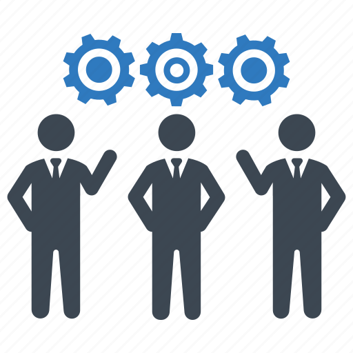 business, planning, teamwork icon