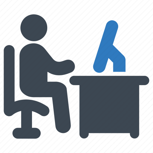 office, working, workplace icon