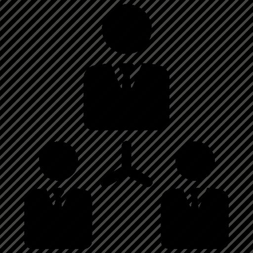 management, organization, teamwork icon