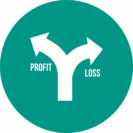business, economic, financial, growth, loss, profit, stock icon