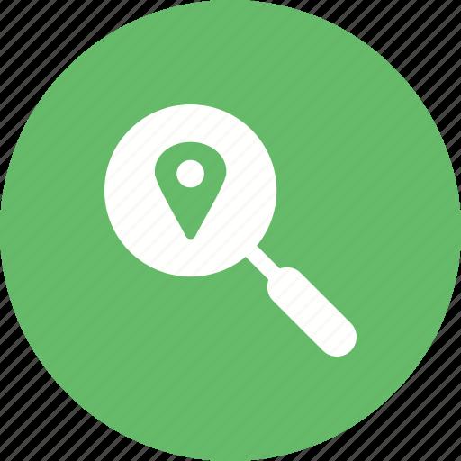 Ipad, map, business, travel, online, location, digital icon