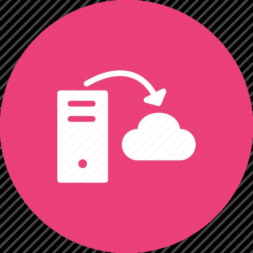Cloud, data, hosting, internet, network, server, storage icon - Download on Iconfinder