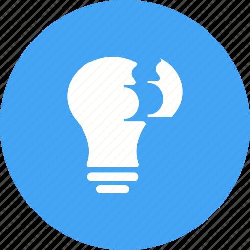 People, work, idea, creative, planning, teamwork, brainstorming icon