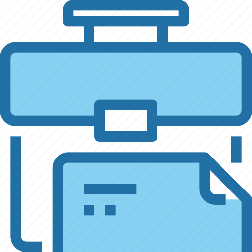 bag, business, case, company, document, file, management icon