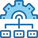 company, develop, development, gear, management, process icon