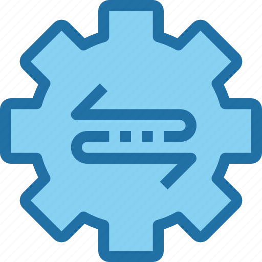 company, gear, management, process icon