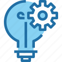 company, gear, idea, management, process icon
