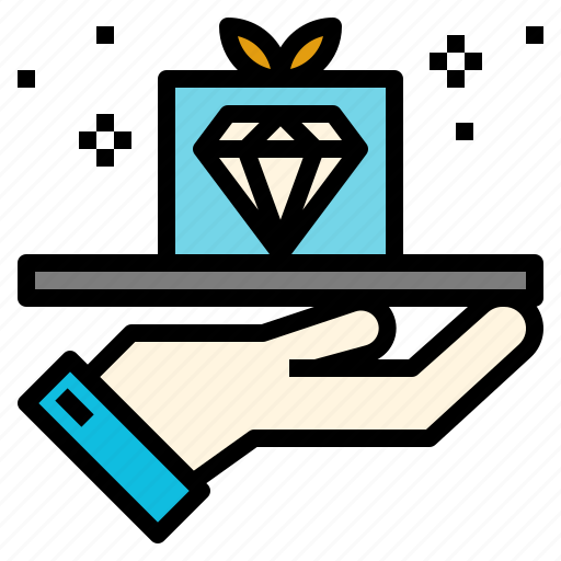 business, marketing, product, proposition, quality, service, value icon